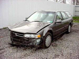 91 93 Honda Accord Station Wagon sw Driver s left Rear Vent Glass Only 13095