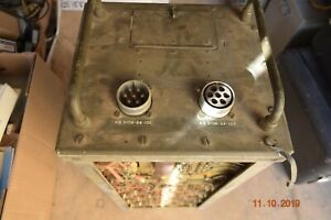 Nuclear Missile Silo Universal Mfg Corp Military Power Supply Grade 1 Class B