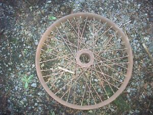 Antique Accessory 22 Wire Wheel Model T Speedster Brass Era Houk Hayes Buffalo
