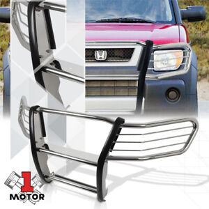 Chrome 1 5 Stainless Steel Grille Brush Headlight Guard For 03 11 Honda Element