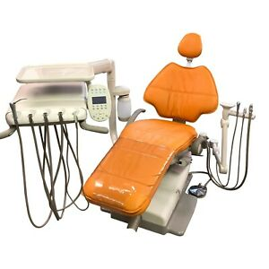Adec 511 Dental Chair Package W A dec 532 Radius Delivery Assistant s Arm