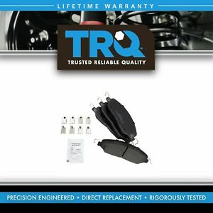 Trq Front Posi Metallic Disc Brake Pads For Ford Mustang New