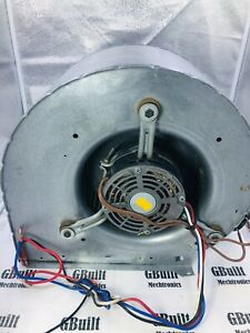 Furnace Fan Blower Assembly Good Motor Capacitor All Windings Tested 10 X 6