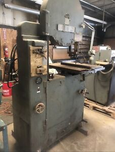Tannewitz Di saw Vertical Bandsaw With Blade Welder