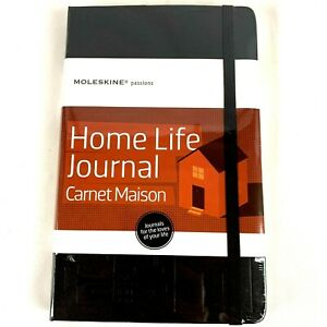 Moleskine Passions Home Life Journal Book Planner 5 X 8 25
