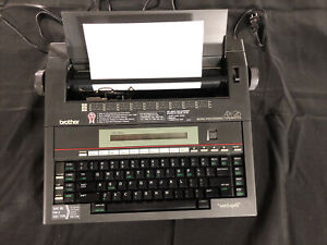 Brother Ax 26 Standard Electric Typewriter Tested Works Great