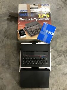Brother Electronic Typewriter Ep5 With Cover