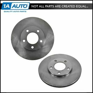 Front Brake Rotor Pair Set For Grand Caravan Voyager Town Country