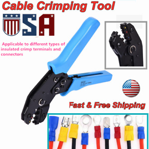 Crimping Tool Wire Crimper Plier Terminal Wire Connectors For Electricity