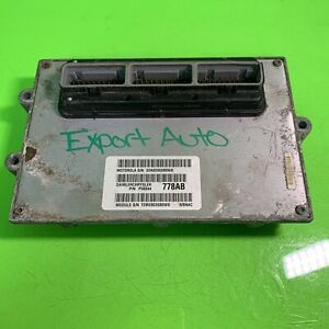 04 Jeep Grand Cherokee 4 7 Engine Computer P56044778ab Warranty