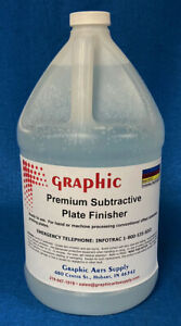 Subtractive Plate Finisher For All Negative Positive Metal Offset Plates 1 Gal