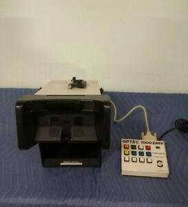 Stereo Optical Optec 1000 Dmv Vision Tester W Keypad Controller