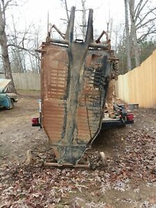 1963 Vw Frame Complete Crossmember All Pedals Steering Box Transaxle Brakes