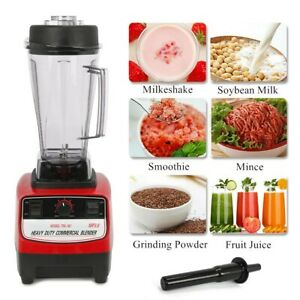 Home Commercial 3hp Blender Mixer 2l Heavy Duty Ice Crusher 2200w Blender 110v