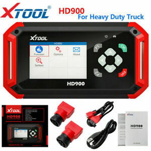 Xtool Hd900 Diesel Heavy Duty Truck Diagnostic Scanner Tool Code Reader 6 9pin