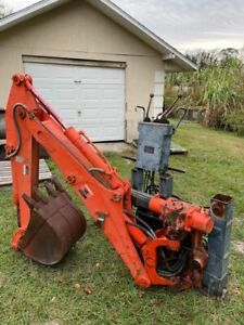 Kubota R420 R520 Wheel Loader Backhoe Attatchment Excavator