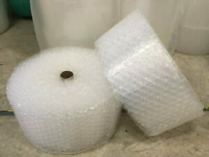 Zv 1 2 X 12 X 125 125ft Large Clear Bubble Padding Cushioning Wrap Roll