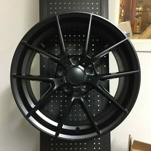 18 M3 Cs Matte Black Wheels Rims Fits Bmw 3 Series 323i 325i 328i 330i 335i