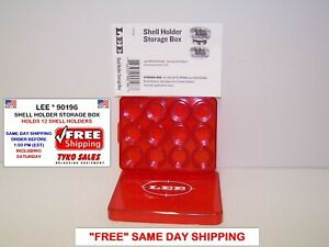LEE 90196 * LEE SHELL HOLDER STORAGE BOX FOR SHELL HOLDERS * 90196 $8.50