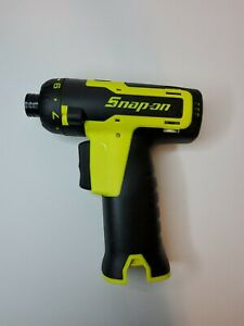 Snap On Tools 14 4v Microlithium Cordless Screwdriver Cts761ahvdb tool Only