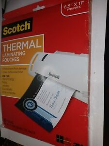 Scotch Thermal Laminating Pouches 65 Pouches