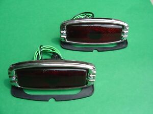 Rat Rod street Rod hot Rod Chevrolet Taillight Assembly pair new