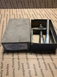 Snap On Steering Wheel Lock Plate Remover Cg 95 With Box
