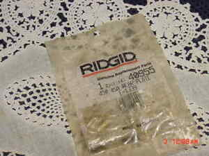 Genuine Rigid 40955 450 45a Wear Plate E 1339 New Sealed Package