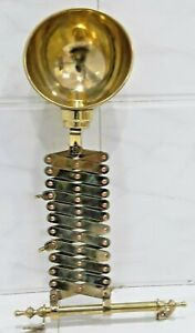 Vintage Style Nautical Brass New Scissor Lamp In Nice Condition 1 Piece