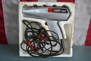 Sears Craftsman Advance Timing Light Vintage Dc Power 244 2117 6 12 Volt