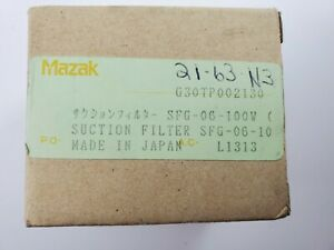 Mazak Suction Filter Sfg 06 100w new Old Stock