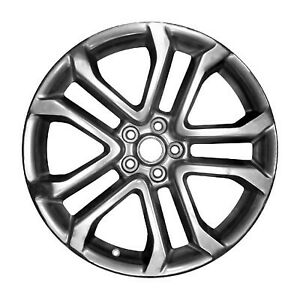 Wheel For 2018 2019 Ford Mustang 20x9 Hypersilver Refinished 20 Inch Rim