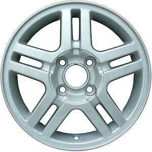 Wheel For 2000 2004 Ford Focus 15x6 Silver Refinished 15 Inch Rim