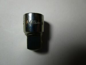 Williams Mb 130 Socket Adapter 1 4 f To 3 8 m Never Used
