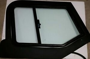 97 06 Jeep Wrangler Tj Lj Black Hard Upper Passenger Side Door Sliding Window