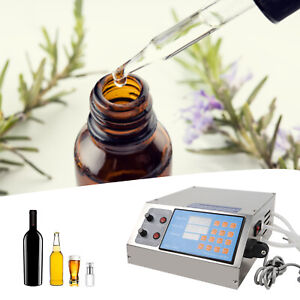 60 Bottle min Filler Liquid Filling Machine Electric Digital Pump 2 Heads 4l New