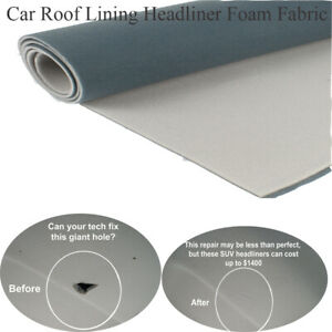 For 1984 2001 Jeep Cherokee Roof Headliner Replacement Foam Backing Fabric 85