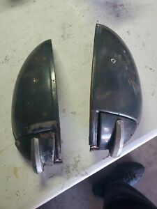 1949 1950 1951 1952 Chevrolet Deluxe Rear Ashtray Arm Rest Set One Missing Pad