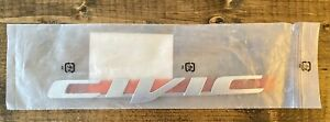 Genuine Oem Honda 75722 tr0 a01 2012 2015 Civic Emblem Rear