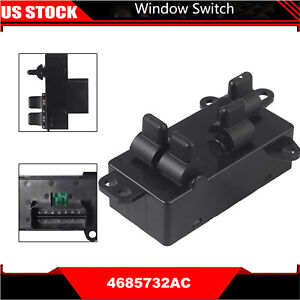 Window Switch Front Driver Side For 04 07 Chrysler Town Country Dodge Caravan