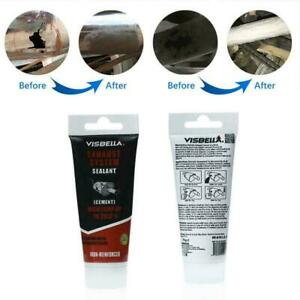 New Car Exhaust System Pipe Repair Kit High Temperature Cement To Sealant F1k8