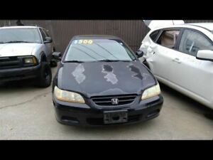 Front Bumper Coupe Fits 01 02 Accord 713785