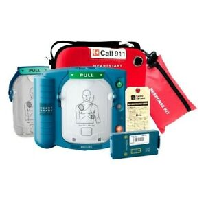 Philips Heartstart Onsite Home Aed Defibrillator Package New W 8 Year Warranty