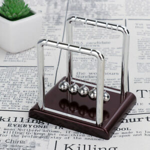 Newtons Cradle Balance Ball Home Decor Office Science Desk Gravity Toy Gifts Us