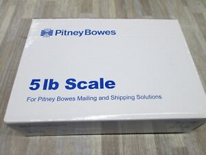 Pitney Bowes 397 a 5lb Usb Shipping Postal Scale New