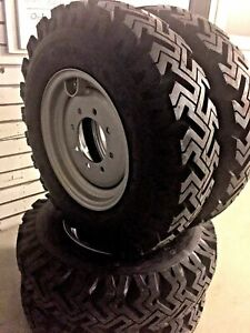 4 New Skid Steer Bias Mud Winter 7 50 16 Tires Replaces 10 16 5 Bolt On 8 On 8