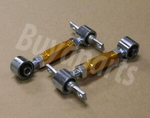 Gold Pro Style Rear Upper Adjustable Suspension Camber Kit Civic 96 00 Ek4 Ek9