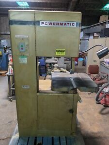 Powermatic 20 Model 81 Vertical Woodworking Bandsaw 2 speed 2 Hp 230 460v