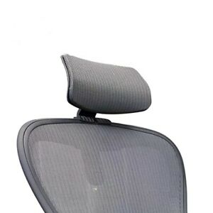 Herman Miller Aeron Chair Headrest New Black Color Fits A B C Size
