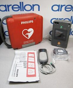 Philips Heartstart Fr3 Aed Bundle New Battery New Pads Qcpr Pedi Key Case